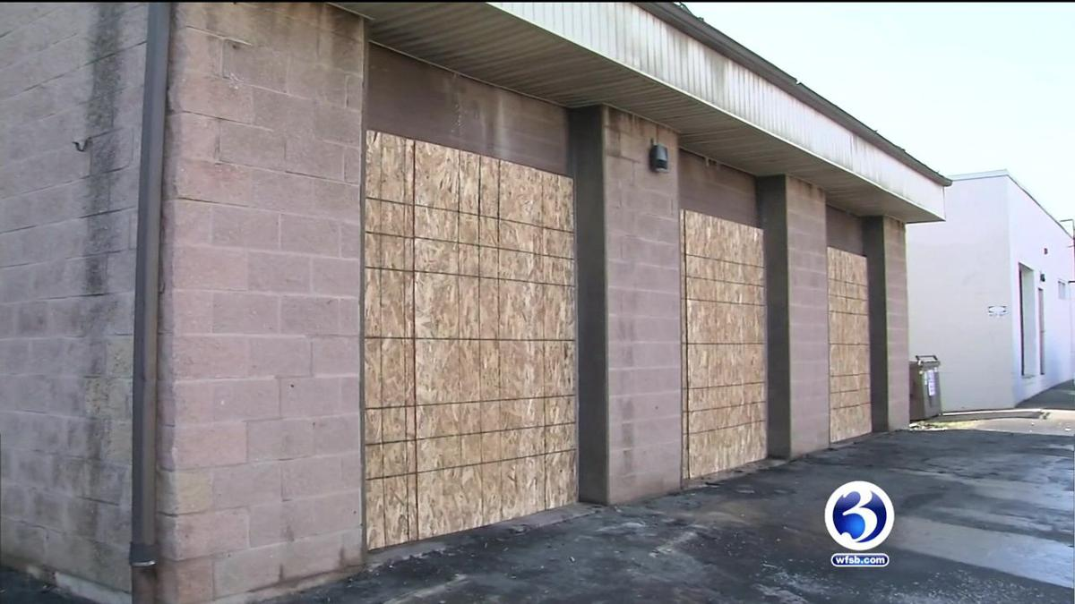 VIDEO: Church employment center, food pantry destroyed by fire in Hartfor