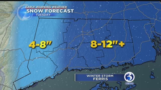 Nor'easter dumps 2 feet of snow for some