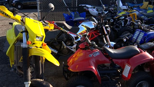 Officers derail illegal ATV, dirt bike riders around capital city
