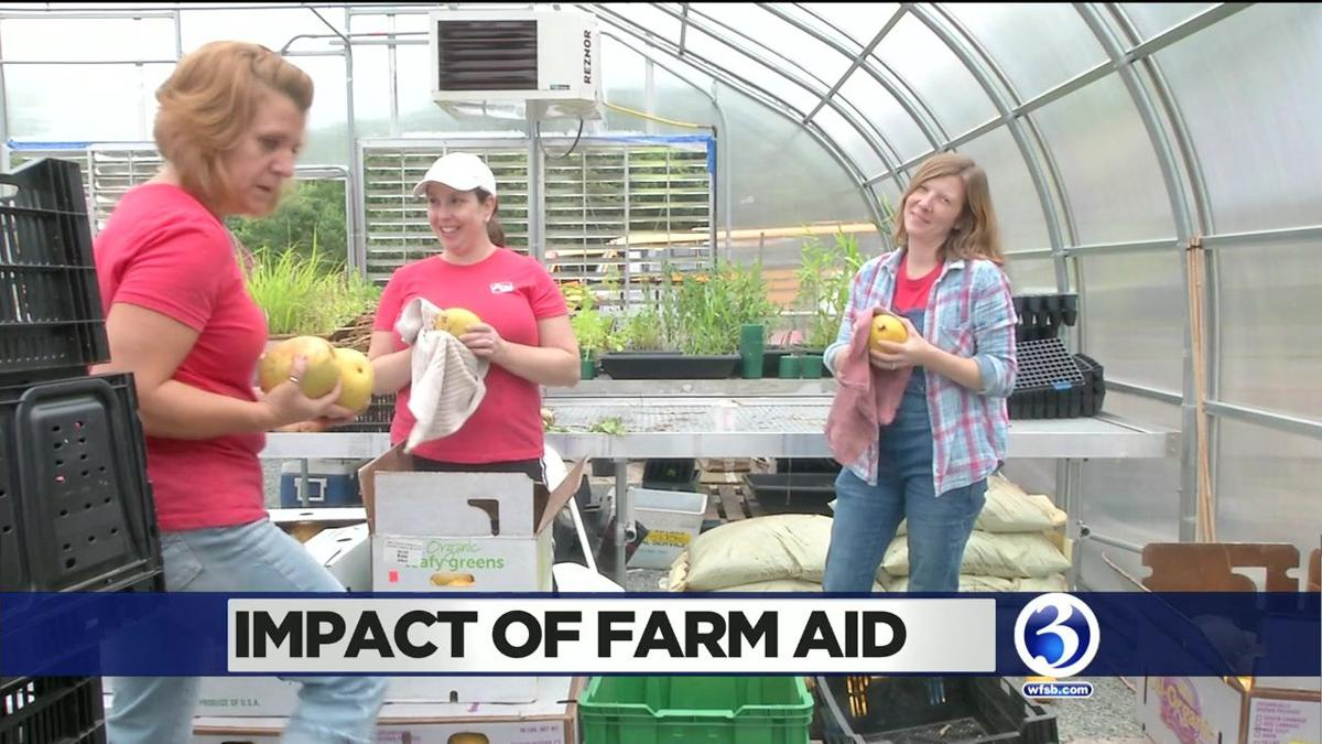 Video: Ch. 3 stops by three urban farms before big concert