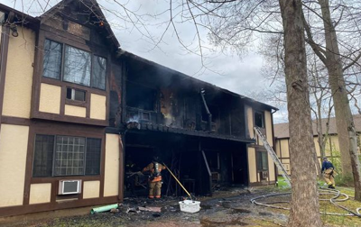 Milford House Fire