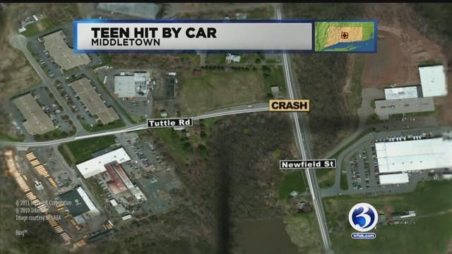 PD: Man struck by car in Middletown