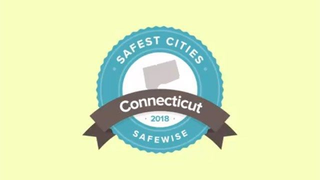 Company ranks Connecticut's safest cities and towns