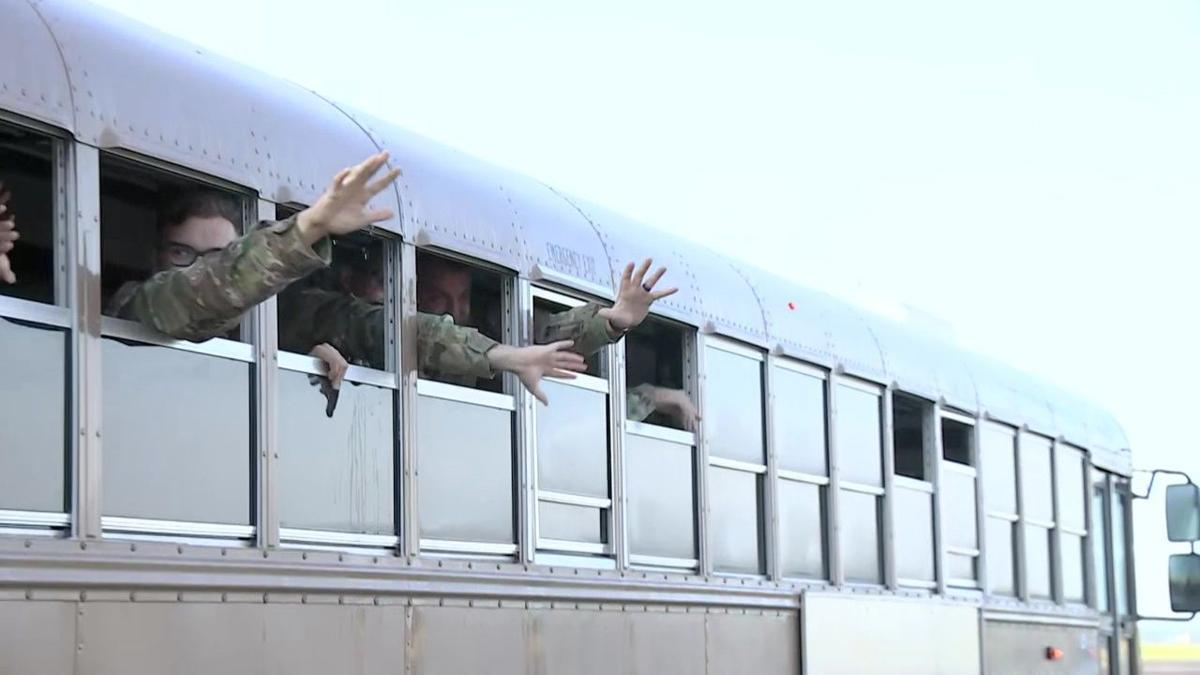 VIDEO: CT National Guardsmen depart Windsor Locks for Afghanistan