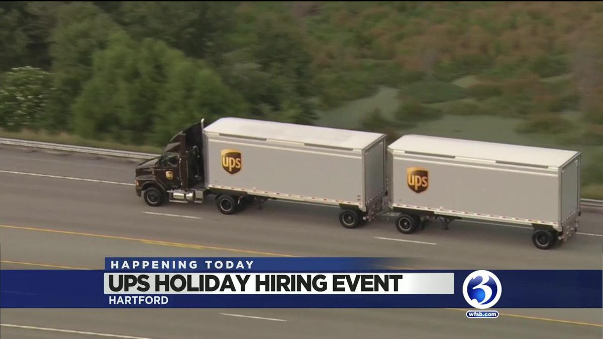 VIDEO: UPS holding 2 hiring events