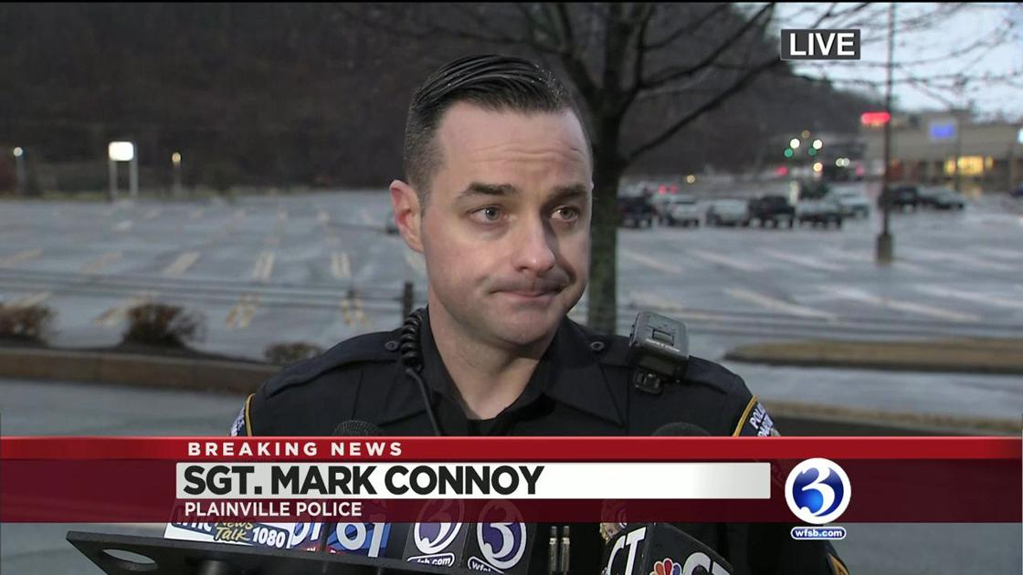 Plainville police give update on barricade person