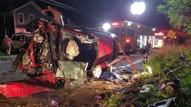 Serious injuries reported in Colchester crash