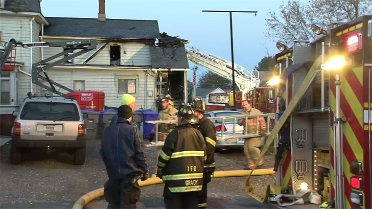Enfield mother recounts moments before losing son in a house fire
