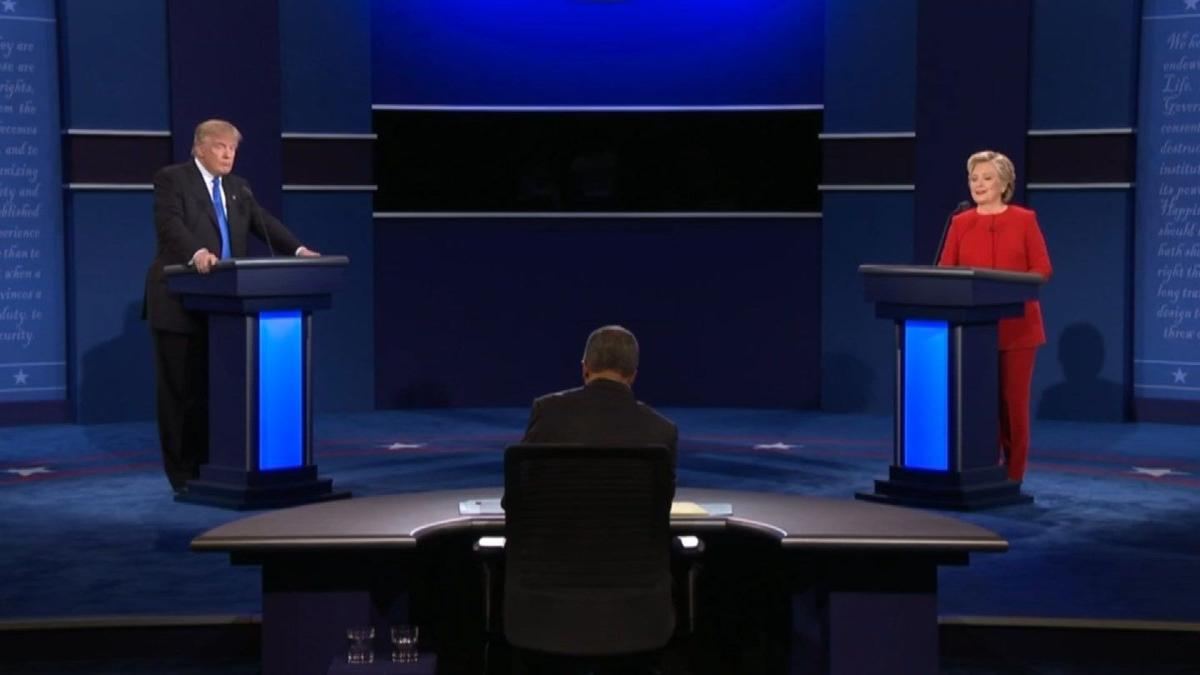Gloves come off in first presidential debate