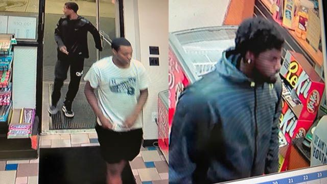 Clinton police look to identify car theft suspects