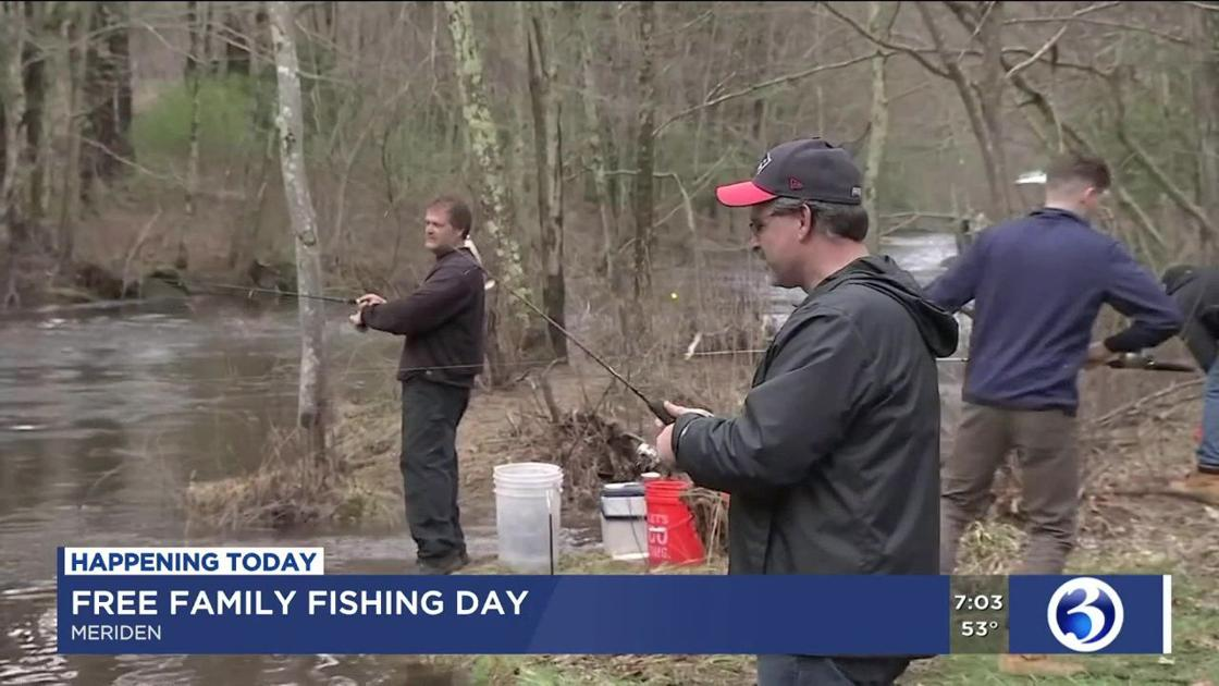 VIDEO: Free Family Fishing Day