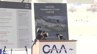 Grand Transportation Center groundbreaking