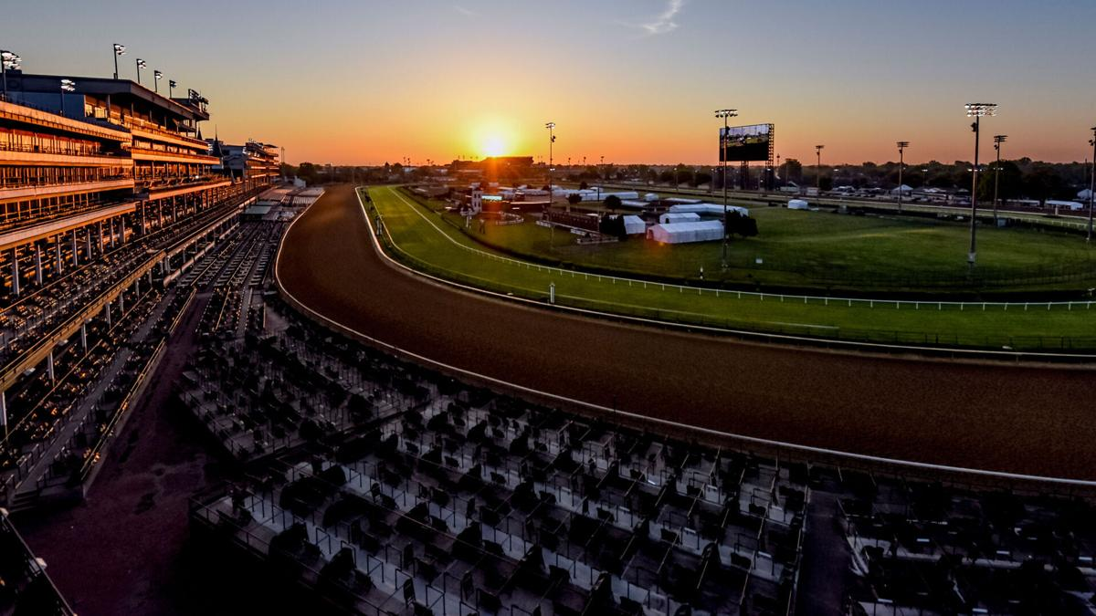 The Kentucky Derby returns to its regular race day, but fewer fans will attend because of Covid-19