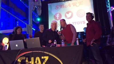 Chaz & AJ holiday toy drive kicks off in New Haven