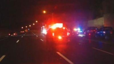 Crash involving tractor-trailer reported on I-91 South in Rocky Hill