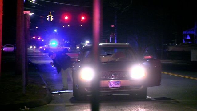 PD: Car crash leads to large fight and shots fired