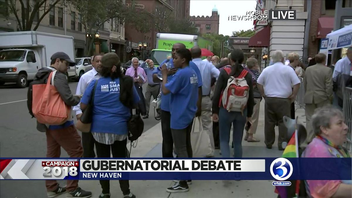Guberanatorial candidates to go head-to-head in New Haven tonight