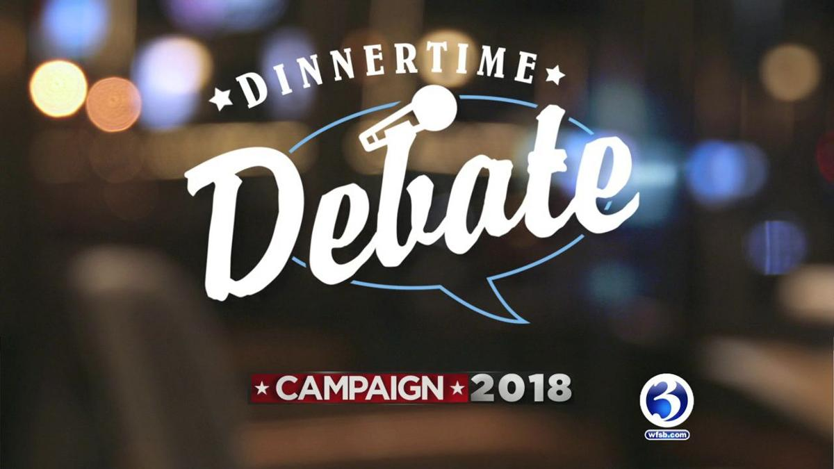 Dinnertime Debate talks to voters in Hartford