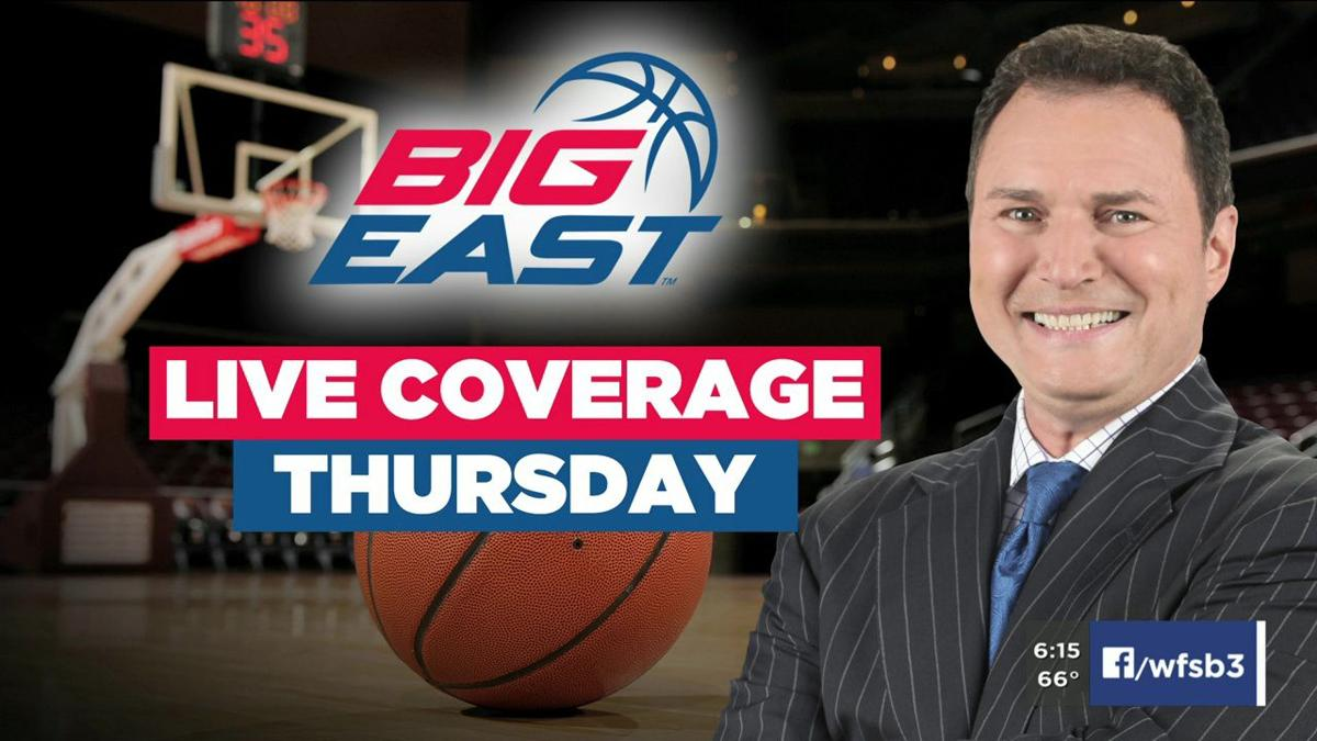 Joe Zone live at Big East announcement