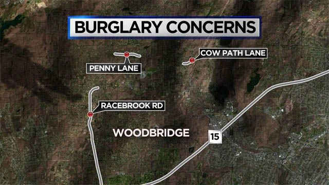 Woodbridge residents advised to 'stay vigilant' after recent home burglaries