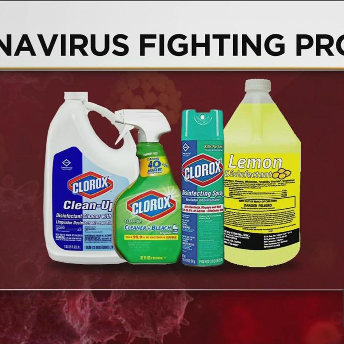 Agency Lists Cleaning Products That