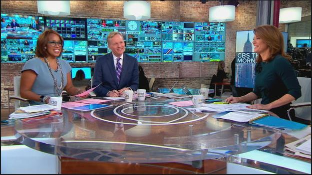 John Dickerson replaces Charlie Rose on CBS This Morning