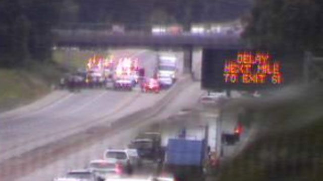 I-95 southbound in Madison reopens after 2-vehicle crash