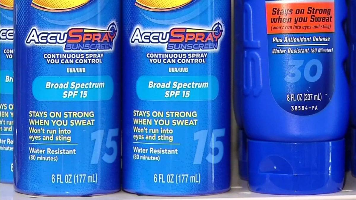 Local mom pushes to change school sunscreen law