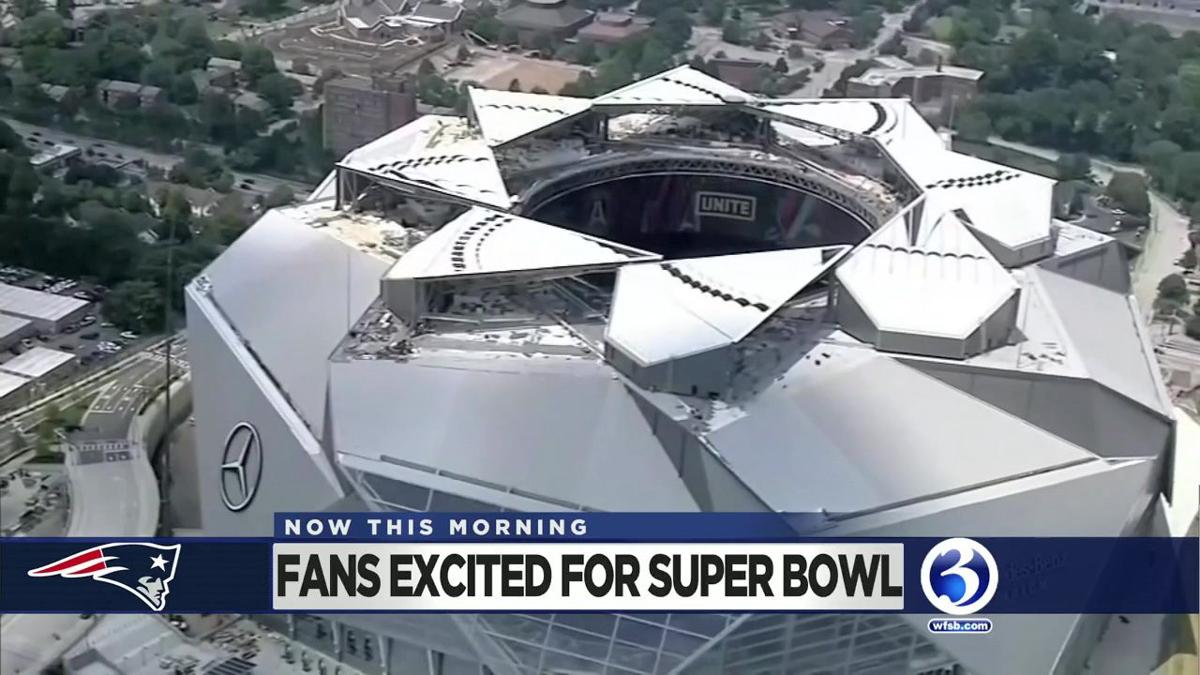 VIDEO: Fans excited for the Super Bowl
