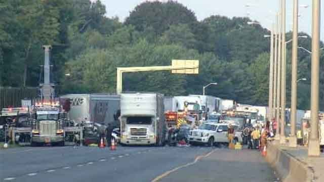 Police discuss criteria for closing highways after crashes