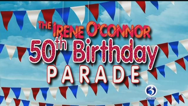 The Irene O'Connor 50th birthday parade draws participants, fans from across the state