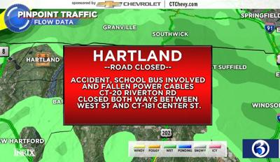 Hartland crash map