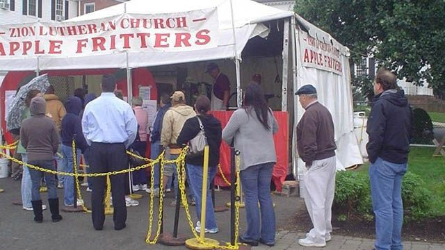 Schedule released for Southington apple fritter booth, festival