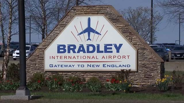 Two men arrested, escorted off plane at Bradley Airport