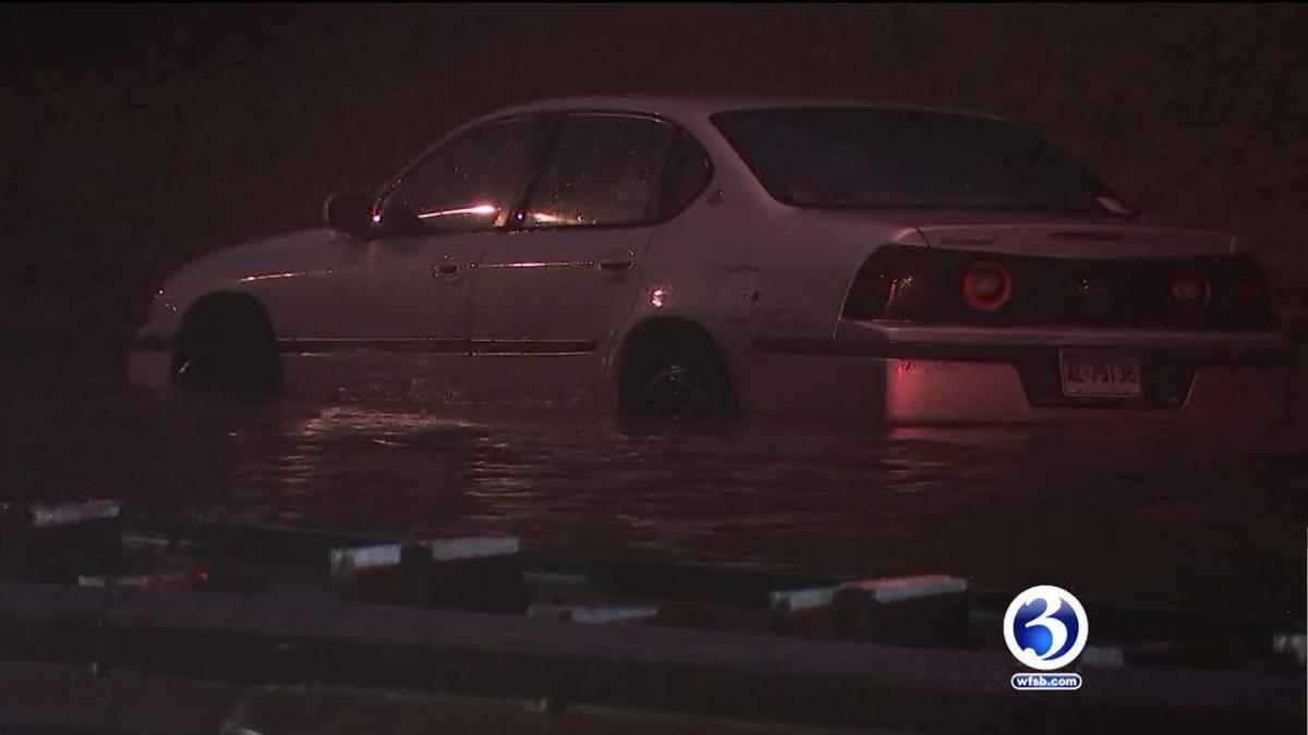 VIDEO: Flash flooding in Haddam