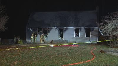 East Granby family displaced from home after fire