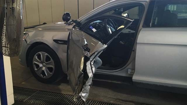 PD: Man driving drunk crashed into state trooper's cruiser