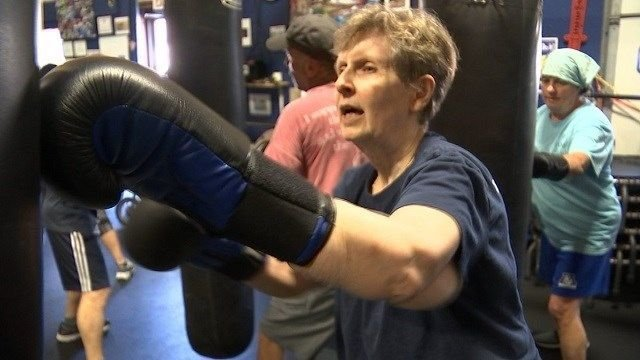 Deep River gym helps Parkinson's sufferers fight back