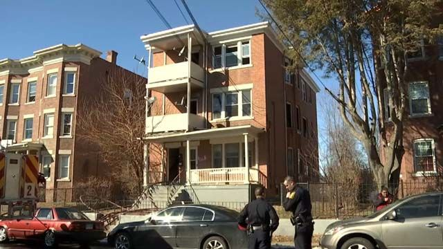 No injuries reported in fire at three-story home in Hartford