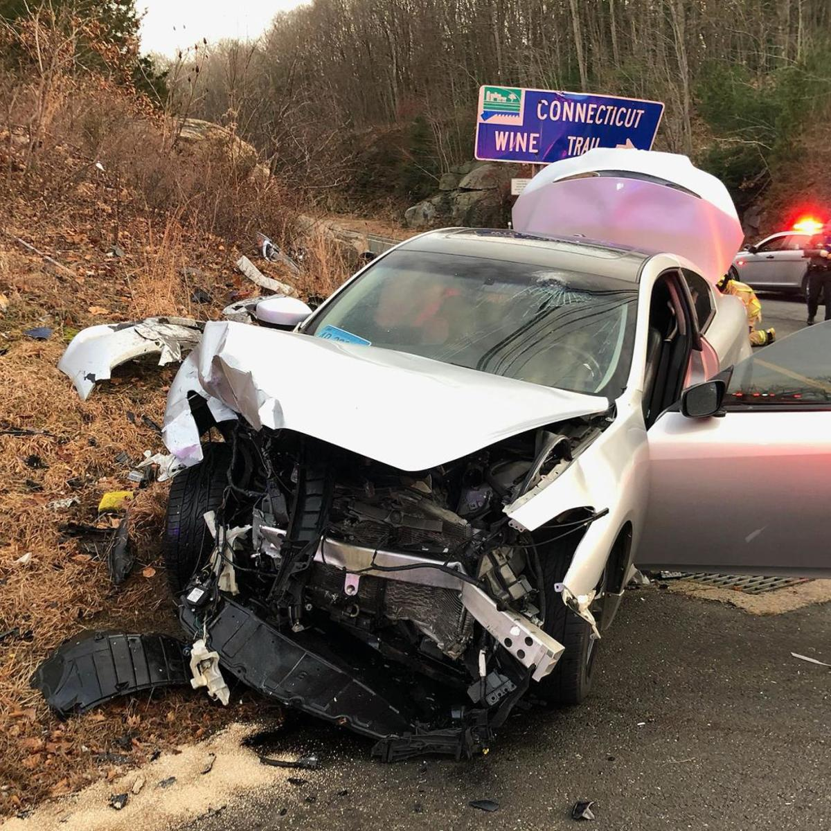 Driver attempting to evade police causes serious crash