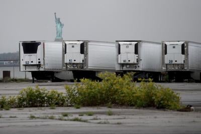 Bodies of Covid-19 victims are still stored in refrigerated trucks in NYC