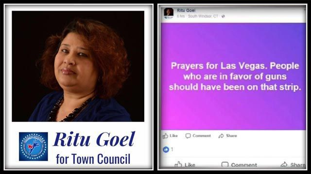 Mayor calls for South Windsor to come together after town council candidate makes controversial Vegas post