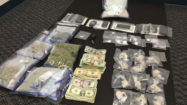 Three arrested in Groton drug bust, over 10 ounces of heroin seized