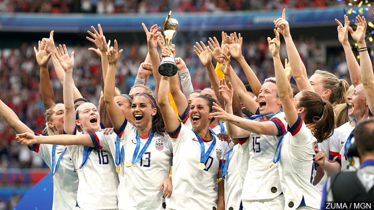 U.S. Woman's soccer team World Cup champions