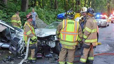 PD: Three suffer serious injuries in Haddam crash