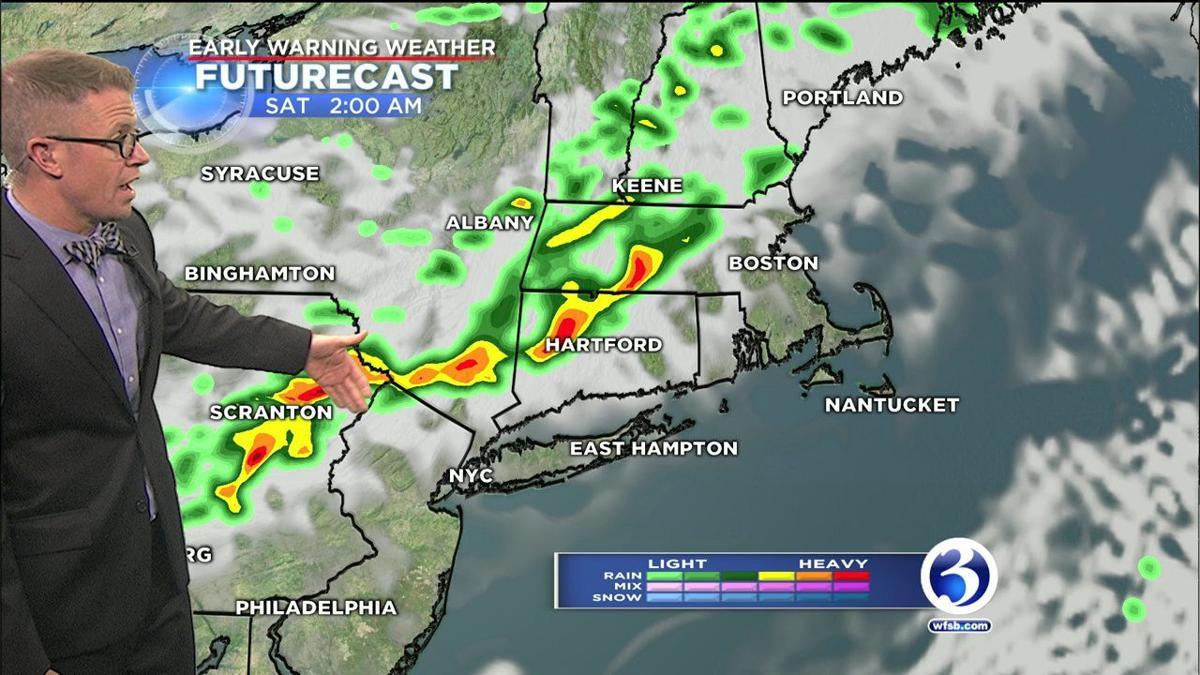 FORECAST: Chance for rain and storms before a nice weekend