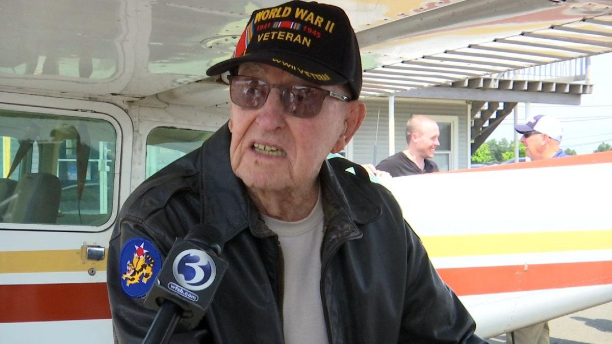 98-year-old WWII vet pilots plane once again