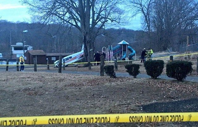 Two injured in plane crash in Meriden expected to be OK