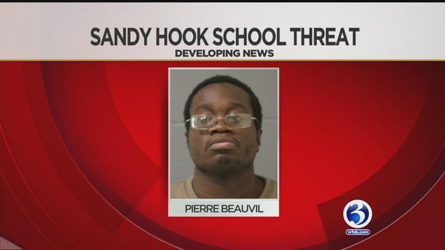 Man arrested for threatening Sandy Hook Elementary School