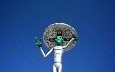 The guy behind the 'Storm Area 51' Facebook event is hosting an alien-themed festival